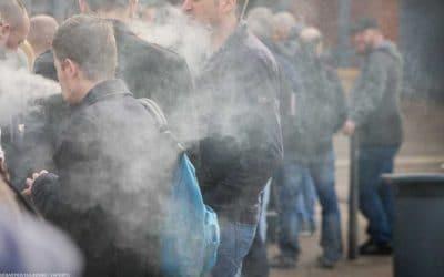 Air Sampling confirms secondhand vapor is harmless